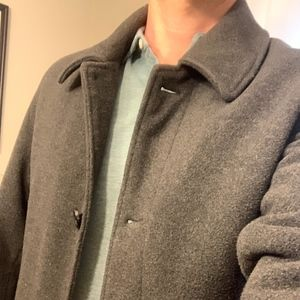 Charcoal Gray Coat - Wool - Great Condition